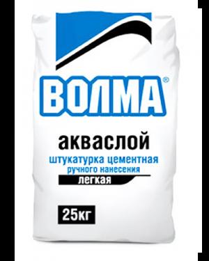 """Штукатурка цементная Волма """"Акваслой"""" 25 кг."""