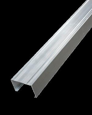 Профиль алюминиевый 100*50 0,55 мм
