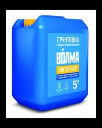 """Грунтовка Волма """"Интерьер"""" 5 литров"""